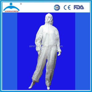 non woven disposable overalls for paint with hoods disposable coverall