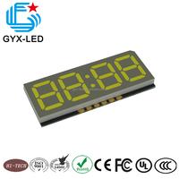 High brightness good reliability 4 digit 7-segment SMD LED display