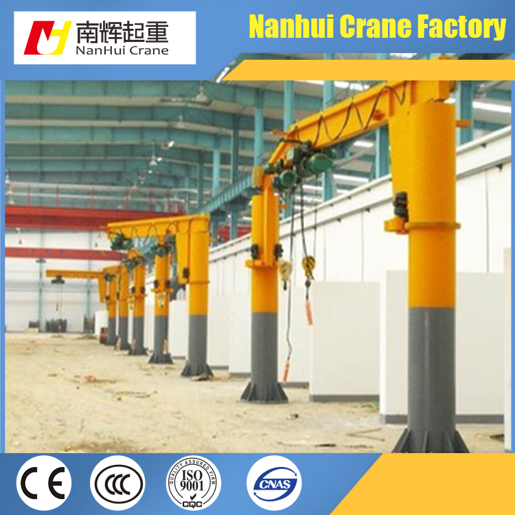 2017 New design rotating warehouse used 5 ton jib crane for sale
