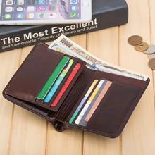 new design leather handbag wallet, genuine leather men's wallet