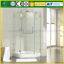 Bathroom 3 sided spare parts shower enclosure