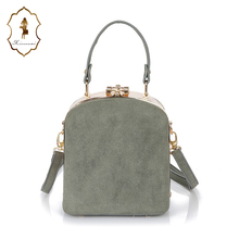 2017 Fancy Cheap Designer Teenagers College Student Lock Mini Shoulder Bags Girls Messenger Sling School Bag