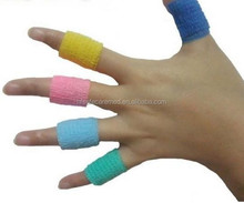 High Quality Colorful Latex Flexible Cohesive Finger Bandage