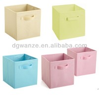 Fabric Folded box/stool/storage organizers