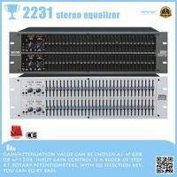 2231 Type III noise reduction associated equalizer, dj equipment China