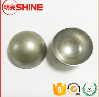 6.35mm 50.8mm 60mm 500mm 304 aisi304 high precision mirror hollow stainless steel round half ball for decorative