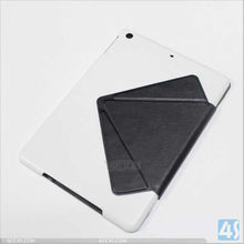 6 folds Stand transformer leather case for apple iPad air Tablet 4G LTE Tablet P-IPD5CASE013