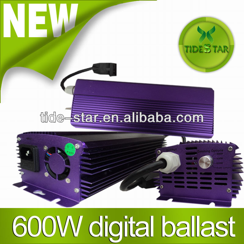 600w dimming electronic ballast/600w Watt Grow Light Digital Dimmable HPS System for Plants