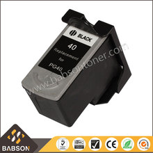 China Factory Directly Sale Premium compatible ink cartridge PG40 for Canon