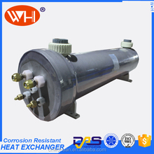 WHC-10.0EC Titanium Tube PVC Shell Heat Exchanger Price