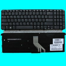 Replace HP DV6-1000 DV6-2000 GLOSSY US laptop Keyboard
