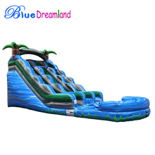 cheap big used inflatable water slides for sale