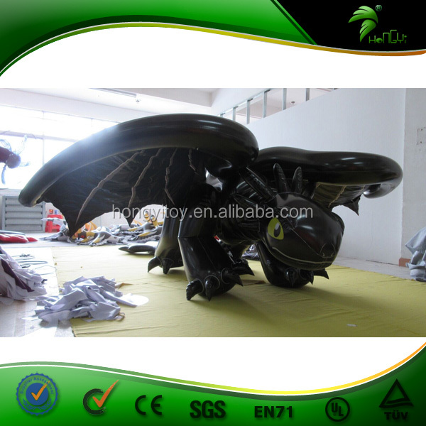 Moving Inflatable Costume / Walking Inflatable Toothless Costume / Inflatable Dragon Costume