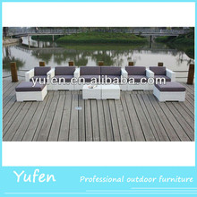 aluminum rattan fiberglass outdoor furniture