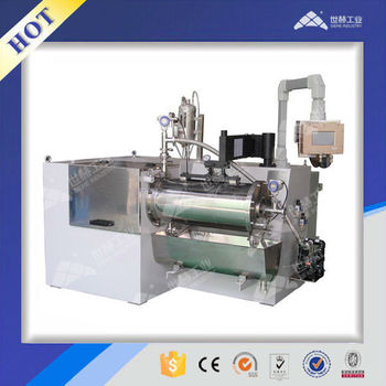 All-round Pin peg type Horizontal Bead Mill (5-50L)