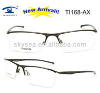 2013 Band Designer Mens Sports Air Titanium Eyeglass Frames