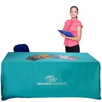 Custom Exhibition Printed TableCloth Printing, Printed Advertising Tablecloth