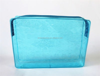Candy Color Cute Transparent PVC Travel Bag/Clear PVC Cosmetic Bag