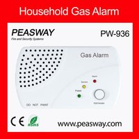residential natural gas alarm for dwelling