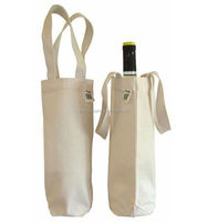 China alibaba cheap reuseable canvas wine tote bags wholesale