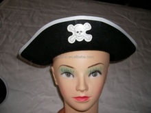 Black Children Pirate Hat Party Hats Funy hat