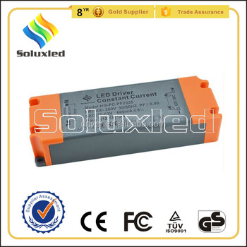 25W Constant Current LED Driver 300mA High PFC Non-stroboscopic With PC Cover For Indoor Lighting