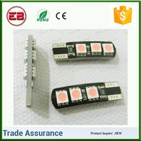 Mix color T10 led Canbus Error 5050 2smd waring canceler 36lm Mon polar Lamp,car led canbus light