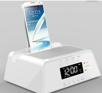 Bluetooth Speaker Charging Docking Station Dock Station for Apple iPhone 5,4,4S, iPad, iPod, Samsung