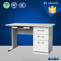 luoyang modern office desk 2016 steel computer tables office desk furniture