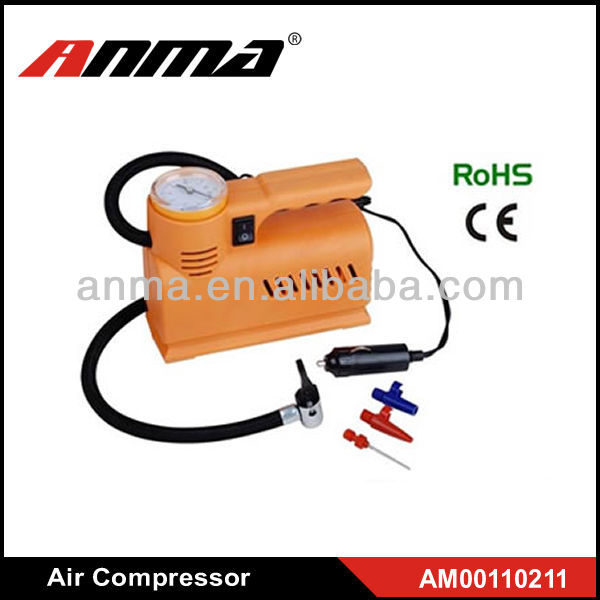 Yellow outlooking split air conditioner compressor