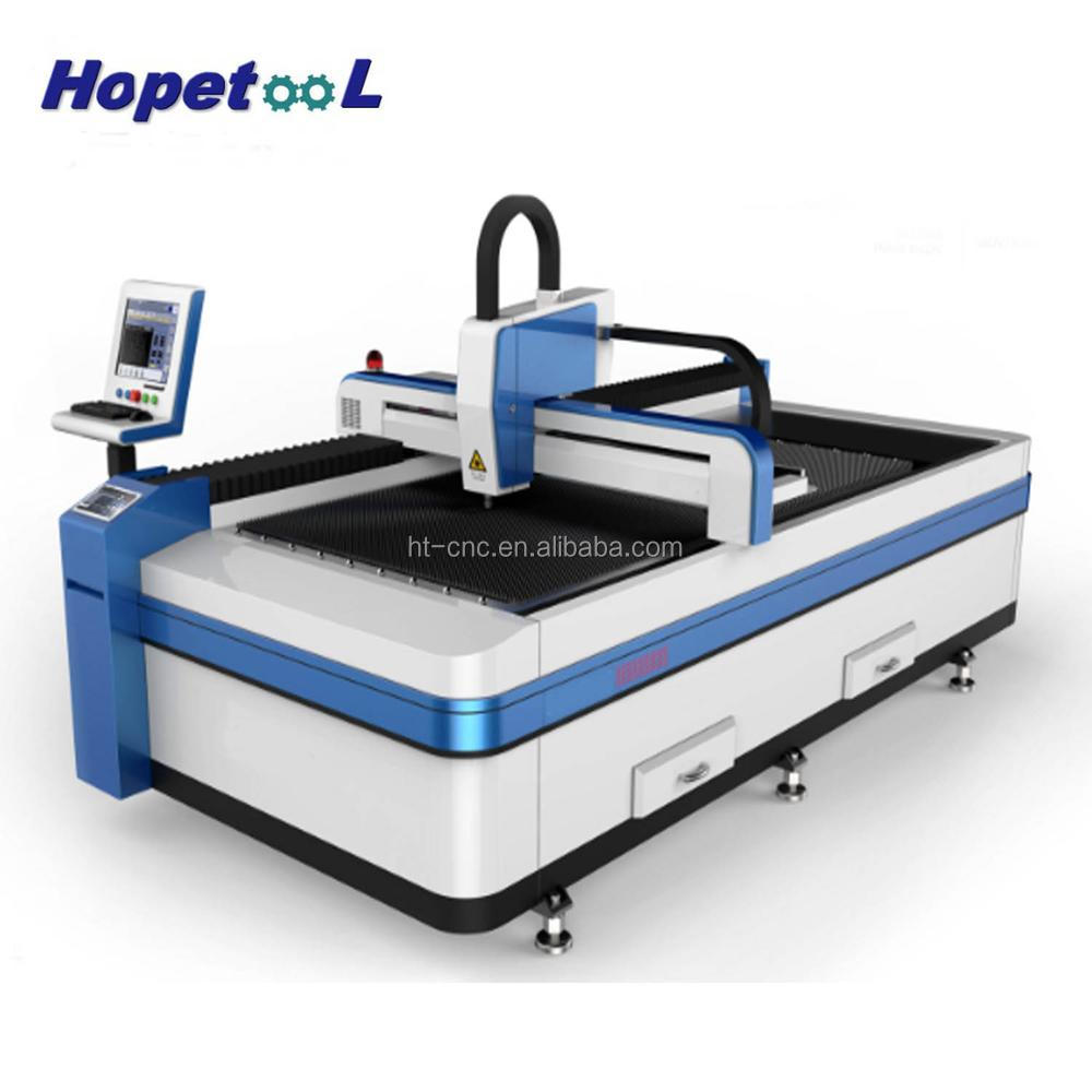 Ecnomical 300w fiber laser cutting machine for thin stainless steel
