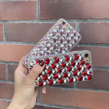 Crystal Case for iPhone 6s,For iPhone 6 Cell Phone Transparent Hard Diamond Bling Case