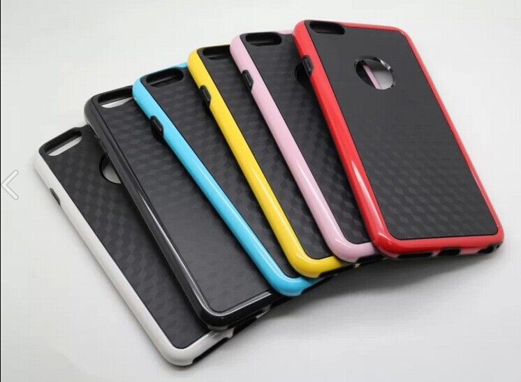New arrived! Factory price! Clean TPU Case Rear cover Black for ip6 accepted paypal