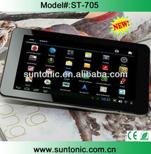 cheap 7 inch dual core tablet VIA 8880 with HD screen optional
