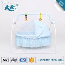 Superior customer care best selling wholesale custom made swinging portable baby bassinet