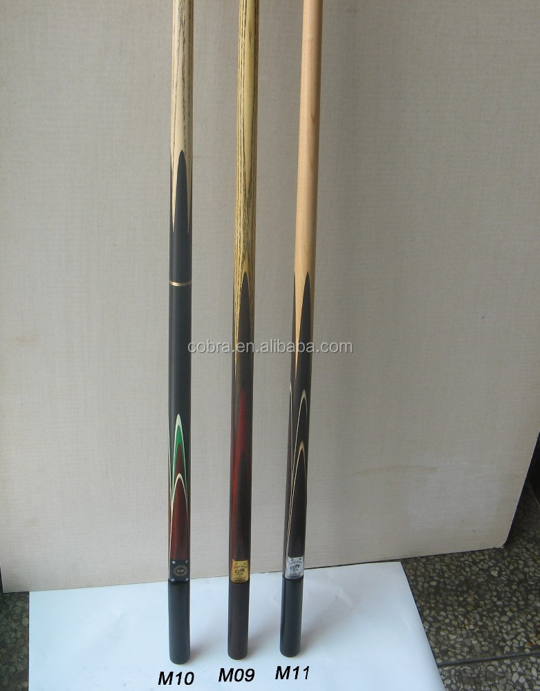 Top grade snooker cues