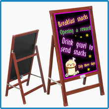 China supplier wholesale 50x70cm outdoor mobile advertising led write boards