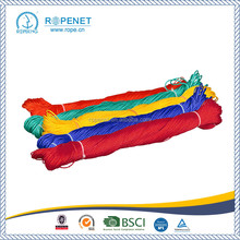 Factory price Colorful 3 strand polypropylene / pp rope