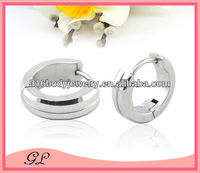 stainless steel piercing pure color earring findings wholesale