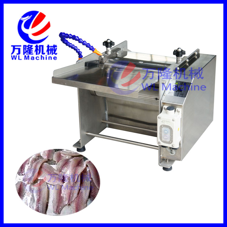 automatic industrial fish fillet processing machine