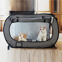 2018 new products pet bag luxury soft-sided cat carrier