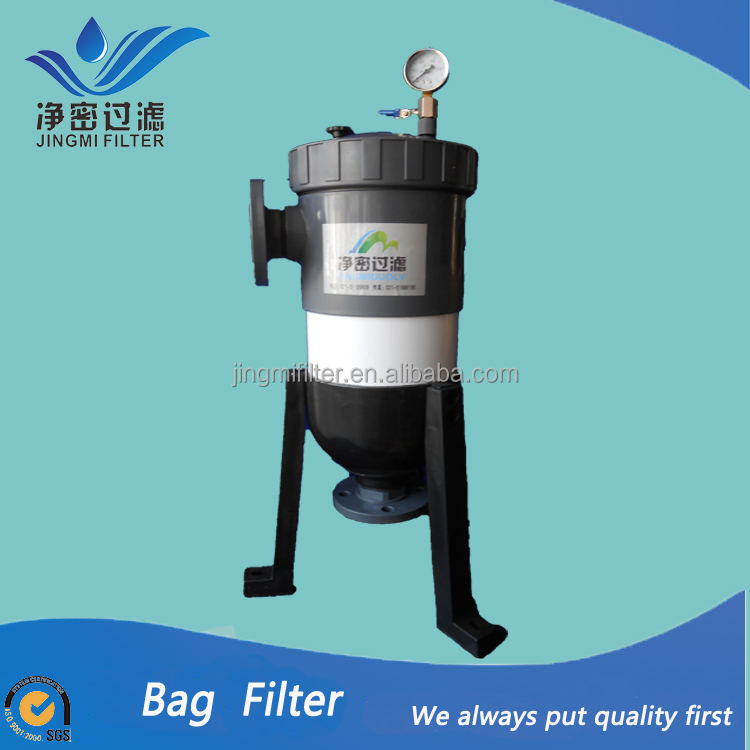 Bag filter housing upvc pvc material / Cosmetic,chemistry, medicine filtration