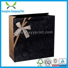 Hair Packaging Bag, Paper Bag For Shopping With Handle