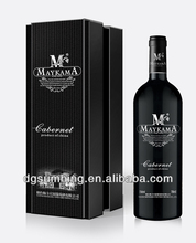 Customized 2014 new style retail gift boxes for wine glasses