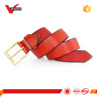 Split leather casual leather belt