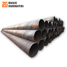 SSAW API 5L spiral welded carbon steel pipe natural gas and oil pipeline