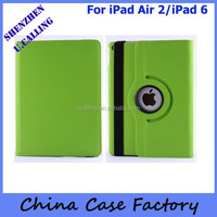 Cheap Price For iPad air 2 Rotation 360 Leather Case