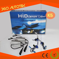 Fast start 6000k 55w auto head lamp h4 bi xenon hid kit