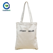 China supplier Factory cotton canvas tote shopping bag