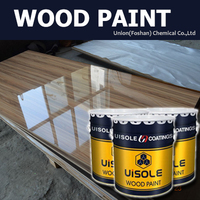 High Gloss UV Curtain Coating For Wood Furniture and Ceramics Tile